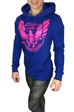 Womens Royal Blue Hoodie Hoody better bodies nike Fitness golds Gym Shark
