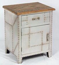 Vintage Nachttisch Industrie design Nachtschrank Retro Nachtkonsole Möbel 506