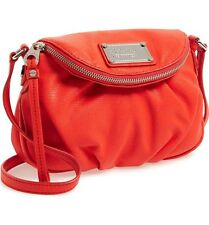 NEW MARC BY MARC JACOBS CLASSIC Q MINI NATASHA CROSSBODY BAG RED
