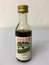 Mignon Miniature Elixir Rabarbaro Zucca 4cl 16% Vol Vintage B.