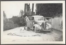 Vintage Car Photo Unusual 1938 Dodge Pickup Wreck on Tow Truck 758145
