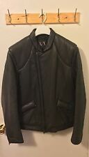Armani Exchange Men Padded Leather Jacket SIZE  L