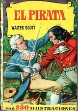 El Pirata. Walter Scott. Colección Historias. Infantil y juvenil