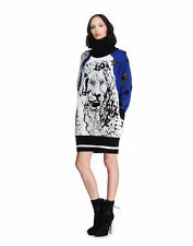Emilio Pucci Multicolour Zodiac Jacquard Jumper Dress UK 8 RRP £2000