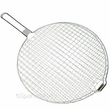 Wire Mesh Gril Foldable Toasting Grilling Rack for Stoves Cooker Hob