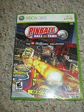 Pinball Hall of Fame The Williams Collection (Microsoft Xbox 360, 2009) Complete