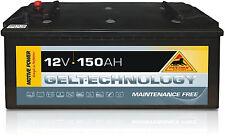 Panther GEL TECH 12V 150Ah Antrieb und Beleuchtung Versorgungsbatterie