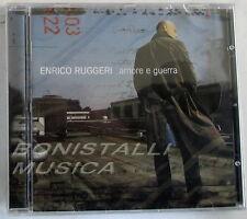 ENRICO RUGGERI - AMORE E GUERRA - CD Sigillato