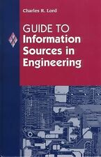 Guide to Information Sources in Engineering: