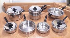 COLONIAL WARE by SALADMASTER Stainless Steel Waterless Induction Cookware