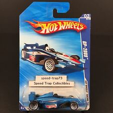 Hot Wheels Racing GP-2009 03/10 #069 Matte Blue Wire Spoke