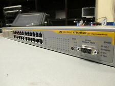 Allied Telesis AT-8624T/2M 24 Port L3 Layer 3 10/100 Managed Fast Network Switch