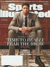 ANTHONY DAVIS Sports Illustrated cover - December 8, 2014