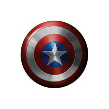 Captain America Shield Button Badge Marvel Avengers - 2.5cm 1 inch NEW