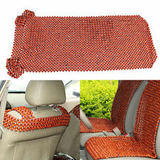 1X African Rosewood Bead Beaded Massages Car Taxi Home Front Seat Cover Cushion