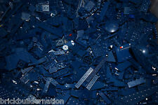 NEW 1/4 POUND of DARK BLUE LEGOS Mix from huge bulk lot lbs city Parts Pieces