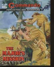 COMMANDO MAGAZINE WAR STORIES IN PICTURES - No. 3502 'The Major's Mission'