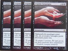 XXX 4x SANGUINE BOND legame sanguigno italienisch commander 2013 (black) NM/MINT