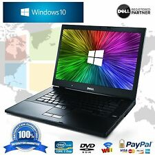 Dell Latitude 14.1 Notebook Windows 10 Core 2 Duo 4GB 160GB WIFI Laptop Computer