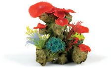 Large Coral Garden Plants & Anemone Aquarium Decoration Fish Tank Ornament
