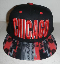NWT Chicago Bulls NBA Basketball Snapback Baseball Hat Cap by Leader LOGA