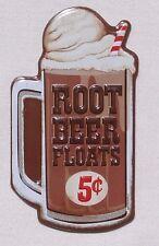 Root Beer Floats USA Kühlschrank Magnet Magnetschild - Dessert Nachtisch