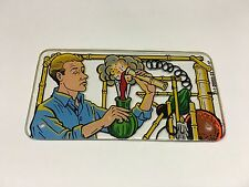 Bally Gilligan's Island Pinball Machine Playfield Plastic Sign - New - NOS