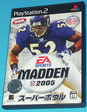 Madden 2005 - Sony Playstation 2 PS2 Japan - JAP