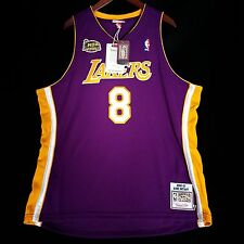 100% Authentic Kobe Bryant Mitchell Ness 2001 Finals Lakers NBA Jersey 52 2XL