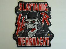 SLAYER SLATANIC WEHRMACHT EMBROIDERED BACK PATCH
