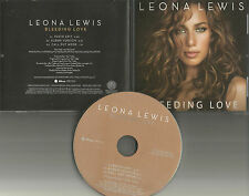 LEONA LEWIS Bleeding Love w/ RARE RADIO EDIT PROMO radio DJ CD single 2007 USA