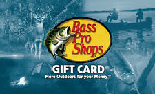 $50 Bass Pro Shops Gift Card - Mail Delivery