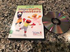 Sesame Street Happy Healthy Monsters DVD!