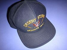 New Ball Hat DESERT STORM PERSIAN GULF *One Size Fits All, Made In USA*