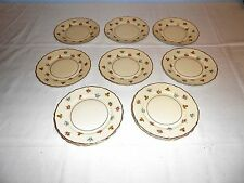 """8 Continental Ivory ~ Rosenthal """"Rob Roy"""" ~ 6"""" Bread Plates ~ Excellent"""