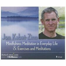 Mindfulness Meditation in Everyday Life and Exercises and Meditations by Jon...