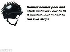 snowboarding skiing rubber mohawks helmet bmx skate bike helmets NOT INCLUDED S