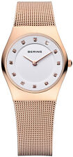 Bering Time - Classic - Ladies Rose Gold Mesh Watch 11927-366 (Women's)