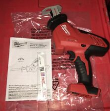 New Milwaukee 2625-20 18V Cordless Hackzall Reciprocating Saw Sawzall Bare Tool