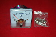 1PC AC 0-15A Analog Ammeter Panel AMP Current Meter 50*50mm directly Connect