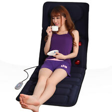 Electric Collapsible Full-body Massage Mattress Multifunction Massager Cushion