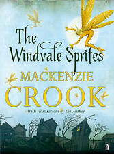 THE WINDVALE SPRITES by MACKENZIE CROOK book HARDCOVER - AS NEW!