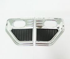 CHROME COVER SIDE LAMP INDICATOR LIGHT PAIR FOR MITSUBISHI L200 TRITON 2005-2012