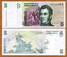 Argentina, 5 Pesos, ND (2003), Pick 353, H-Series (2013), UNC