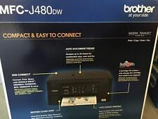 BRAND NEW Sealed  Brother MFC-J480dw Color Inkjet All-in-One Printer
