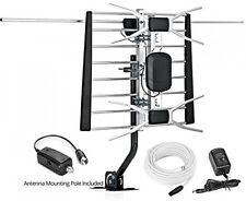 HDTV 1080p Outdoor Amplified Antenna Digital Full HD VHF UHF 4k tv 200 Miles New