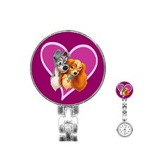 Disney Lady And The Tramp Nurses Fob Watch [40210653]