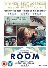Room DVD 2016 - Brie Larson life-affirming journey about the power of love