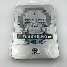 WATCHDOGS - EXCLUSIVE E3 2013 COLLECTORS EDITION - PRESS MEDIA - STEELBOOK TIN