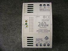 IDEC Power Supply Cat No. PS5R-SG24 Input 100-240V AC Output 24V DC 10Amp